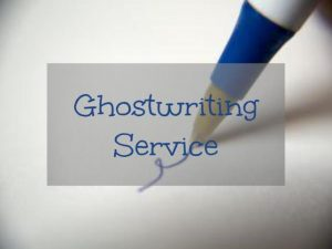 ghostwriting book services