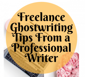 freelance ghost writer