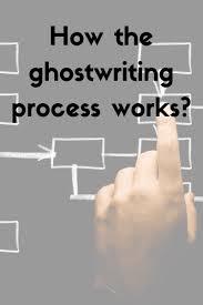 ghost writing process